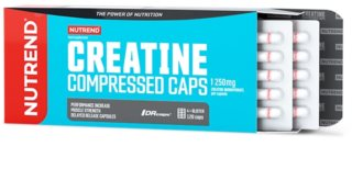 Nutrend CREATINE COMPRESSED CAPS podpora sportovního výkonu