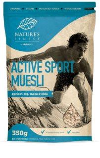Nutrisslim Active Sport Muesli BIO směs vloček, semínek a ovoce