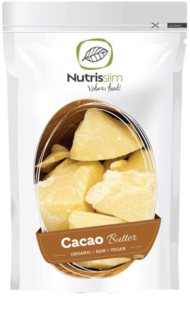 Nutrisslim Cacao Butter kakaové máslo v BIO kvalitě