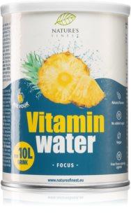 Nutrisslim Vitamin Water Focus prášek na přípravu nápoje s vitamíny příchuť pineapple