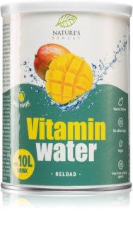 Nutrisslim Vitamin Water Reload prášek na přípravu nápoje s vitamíny příchuť mango
