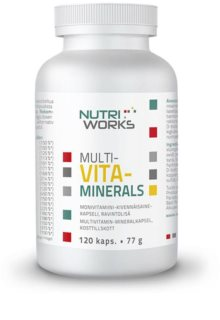 Nutriworks Multivitaminerals komplexní multivitamín s minerály