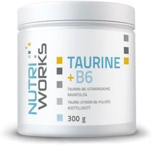 Nutriworks Taurine + B6 podpora sportovního výkonu