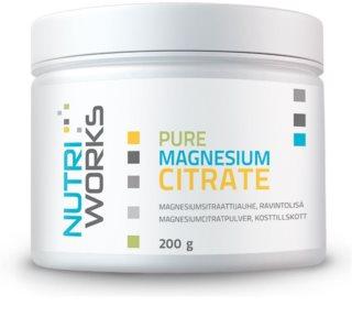 Nutriworks Pure Magnesium Citrate podpora sportovního výkonu a regenerace