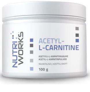 Nutriworks Acetyl L-Carnitine spalovač tuků v prášku