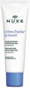 Nuxe Crème Fraîche de Beauté vlažilna nega  z mat učinkom za mešano kožo