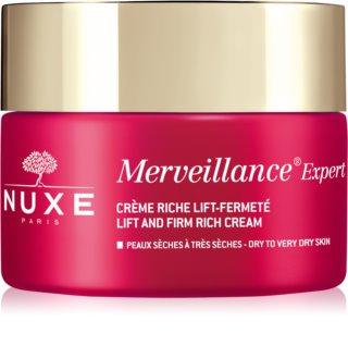 Nuxe Merveillance Expert dnevna krema za lifting i učvršćivanje za suhu i vrlo suhu kožu lica