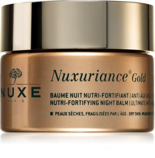 Nuxe Nuxuriance Gold bálsamo nutritivo de noche para fortalecer la piel