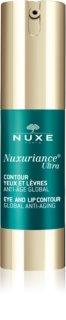 Nuxe Nuxuriance Ultra tratamiento antiarrugas para contorno de ojos y labios