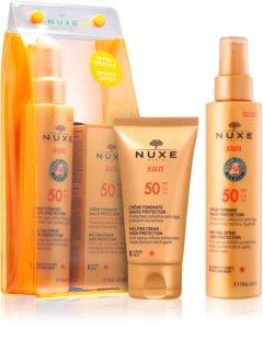 Nuxe Sun coffret cosmétique solaire