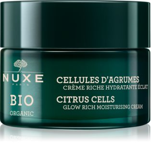 Nuxe Bio feuchtigkeitsspendende Creme für strahlenden Glanz für normale und trockene Haut