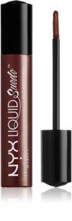 NYX Professional Makeup Liquid Suede™ Metallic Matte рідка водостійка помада ефектом металік