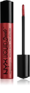NYX Professional Makeup Liquid Suede™ Metallic Matte Waterproof Liquid Lipstick with a Metallic Matte Finish