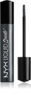 NYX Professional Makeup Liquid Suede™ Metallic Matte voděodolná tekutá rtěnka s metalickým finišem