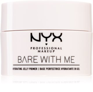 NYX Professional Makeup Bare With Me Hydrating Jelly Primer base con texture in gel