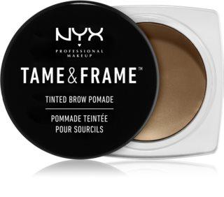 NYX Professional Makeup Tame & Frame Brow pomada do brwi