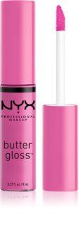 NYX Professional Makeup Butter Gloss lucidalabbra