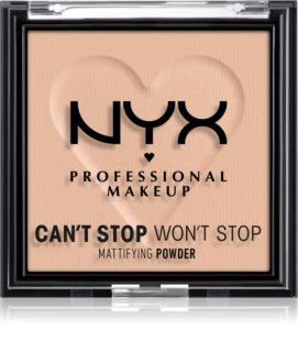 NYX Professional Makeup Can't Stop Won't Stop Mattifying Powder matující pudr