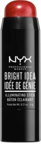 NYX Professional Makeup Bright Idea iluminador en forma de barra