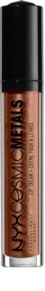 NYX Professional Makeup Cosmic Metals™ μεταλλικό ρευστό κραγιόν