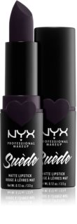 NYX Professional Makeup Suede Matte  Lipstick матовая помада для губ