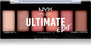 NYX Professional Makeup Ultimate Edit Petite Shadow paletă cu farduri de ochi
