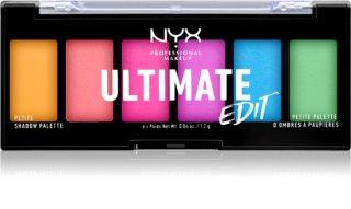 NYX Professional Makeup Ultimate Edit Petite Shadow paletka očních stínů