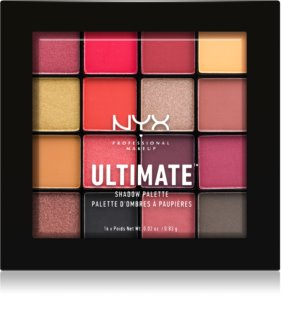 NYX Professional Makeup Ultimate Shadow палетка теней для век