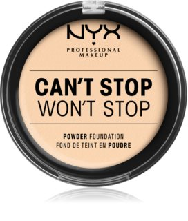 NYX Professional Makeup Can't Stop Won't Stop fondotinta in polvere