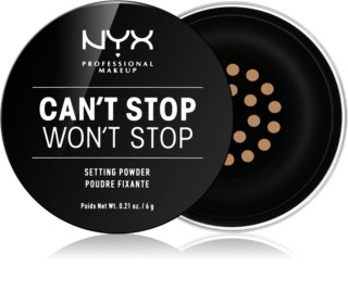NYX Professional Makeup Can't Stop Won't Stop рассыпчатая пудра