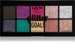 NYX Professional Makeup Glitter Goals highlighter paletta