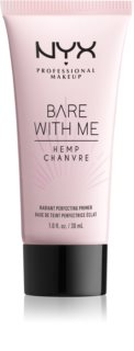 NYX Professional Makeup Bare With Me Hemp Radiant Perfecting Primer prebase de maquillaje