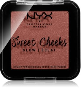 NYX Professional Makeup Sweet Cheeks  Blush Glowy Rodnad