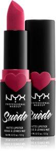 NYX Professional Makeup Suede Matte  Lipstick matná rtěnka