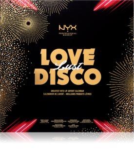 NYX Professional Makeup Love Lust Disco Greatest Hits  adventný kalendár