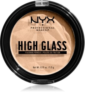 NYX Professional Makeup High Glass rozjasňující pudr