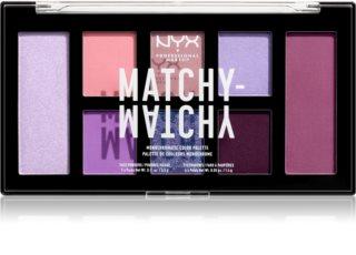 NYX Professional Makeup Matchy-Matchy  paleta sjenila za oči