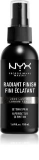 NYX Professional Makeup Makeup Setting Spray Radiant spray de fijacion y briilo