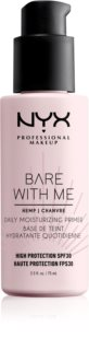NYX Professional Makeup Bare With Me Hemp SPF 30 Daily Moisturizing Primer ενυδατική βάση του μεικαπ SPF 30
