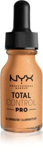 NYX Professional Makeup Total Control Pro Illuminator flüssiger Aufheller