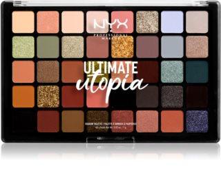 NYX Professional Makeup Ultimate Utopia Lidschattenpalette
