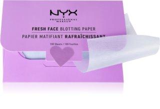 NYX Professional Makeup Blotting Paper mattierende Tücher mit Salicylsäure