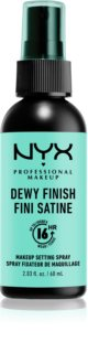NYX Professional Makeup Makeup Setting Spray Dewy fixáló spray