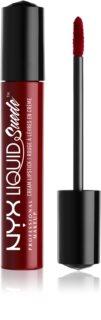 NYX Professional Makeup Liquid Suede™ Cream tekutá voděodolná rtěnka s matným finišem