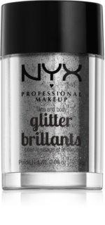 NYX Professional Makeup Glitter Goals брокат за лице и тяло