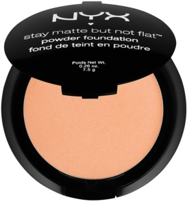 NYX Professional Makeup Stay Matte But Not Flat Powder Foundation with Matte Effect