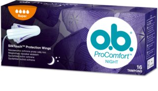 o.b. Pro Comfort Night Super tampons