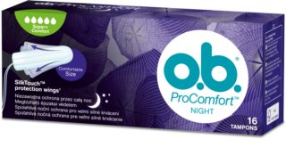 o.b. Pro Comfort Night Super+ tampons Night