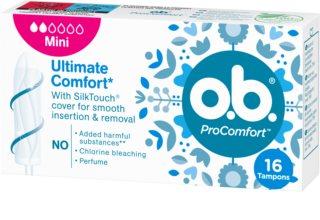 o.b. Pro Comfort Mini tampóny