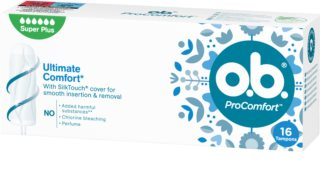 o.b. Pro Comfort Super Plus tampões